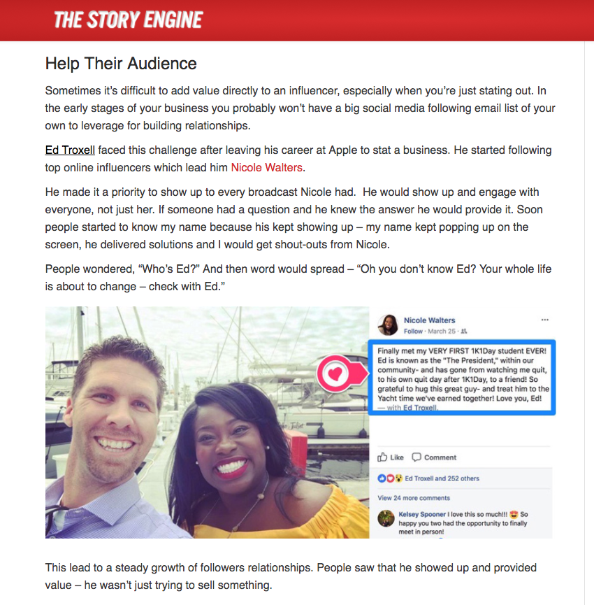 The Story Engine: How to stand out from the crowd
