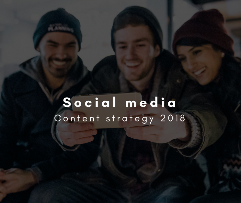 Social media content strategy for 2018