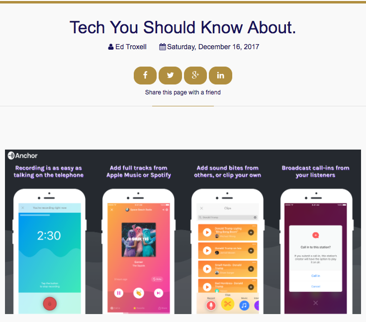 Funnel Magazine Feature: Tech you need to know about
