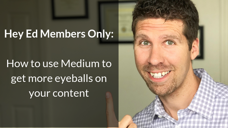 How to use Medium to get more eyeballs on your content