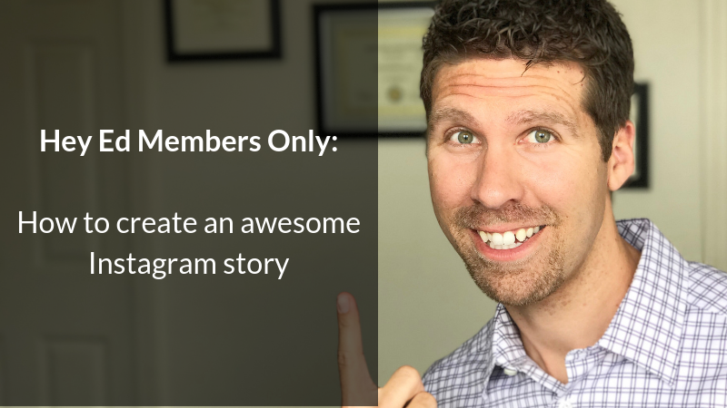 How to create an awesome Instagram story