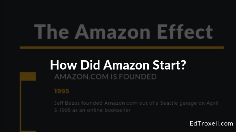 How did Amazon start?