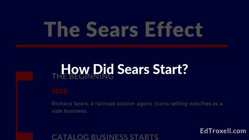 Learn how Sears started and where it's at today