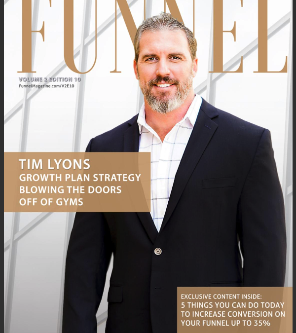 Funnel Magazine October issue featuring Why community matters article