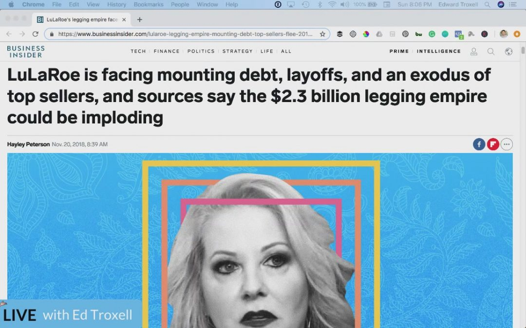 LuLaRoe is facing mounting debt, layoffs, and what you need to learn ASAP – Special Weekend edition