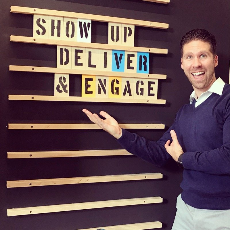 Ed Troxell: Show up, Deliver, Engage