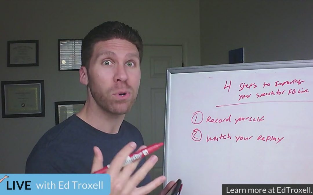 4 steps to improving your speech for going live