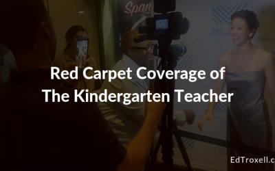 Red Carpet Coverage of  The Kindergarten Teacher staring Maggie Gyllenhaal