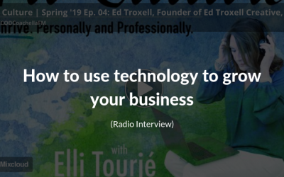 How to grow your business online radio interview on FitCulture