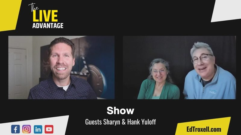 join me on today's show as we welcome America's #1 Coaching Team for Small Business Owners, Sharyn & Hank Yuloff, and let's see how we can take some things off our plate!
