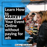 Local businesses learn how to market your event online without paying for ads